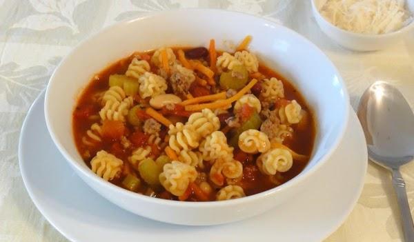 Pasta E Fagiloi Soup Recipe