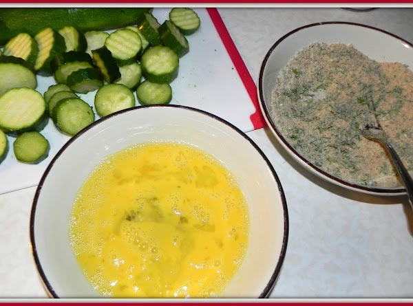 Crack the eggs into a bowl and whisk together. Add remaining ingredients (except dip)...