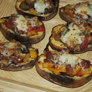 Ratatouille Stuffed Potatoes.