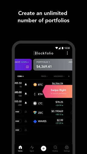 Blockfolio - Bitcoin and Cryptocurrency Tracker for Android apk 4