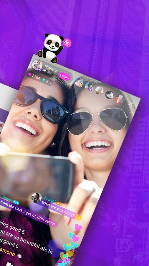 Live.me - video chat and trivia game- screenshot