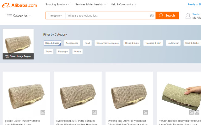 Alibaba Search by image