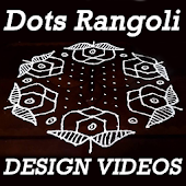 Simple & Easy Rangoli Designs with Dots for Diwali