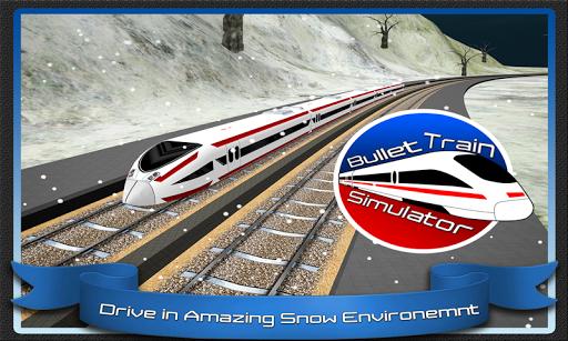 Speed Bullet Train Drive 3D