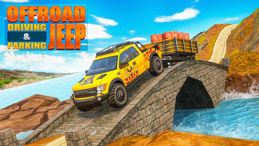 Offroad Jeep Driving & Parking screenshot 1