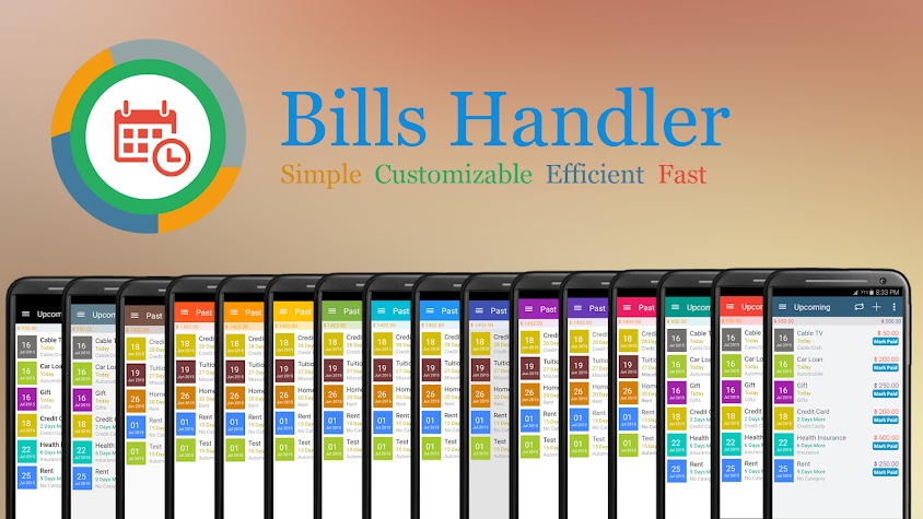Bills Handler With Sync Screenshot