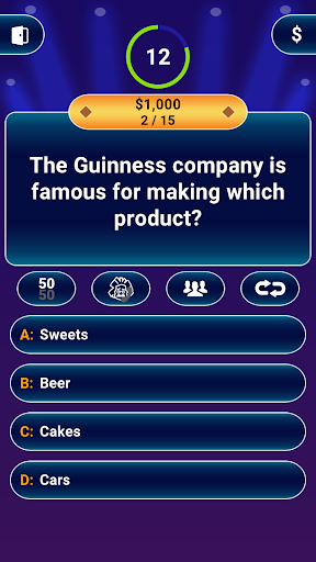 Millionaire 2020 -  Free Game. Questions & Answers 1.5.1.8 screenshots 5