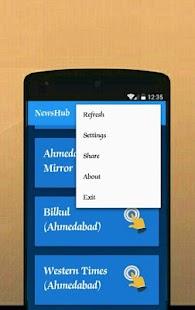NewsHub (Gujarati) - náhled