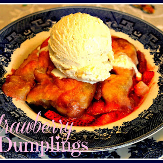 Strawberry Dumplings!