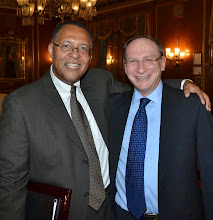 Photo: Chief Justice Roderick Ireland and Justice Ralph Gants, recently confirmed as the incoming Chief Justice of the SJC.