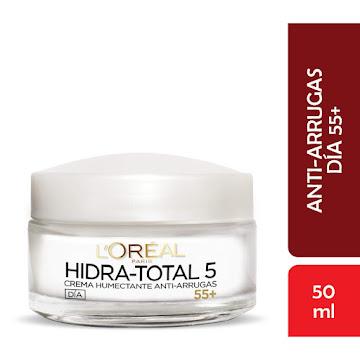 Crema Facial Humectante +55 L'Oréal Paris Hidra Total 5