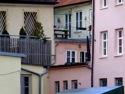 Wohnhaus, Hinterhof.