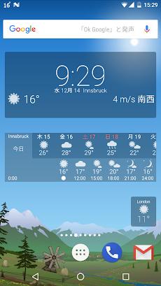 正確な天気 YoWindow ライブ壁紙 ウィジェットのおすすめ画像5