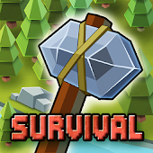 Crafting Survival: Pixel World