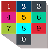 Maths color game