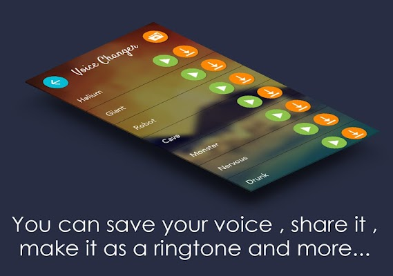 Change your voice to anything - screenshot