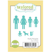 Taylored Expressions Dies - Potty People