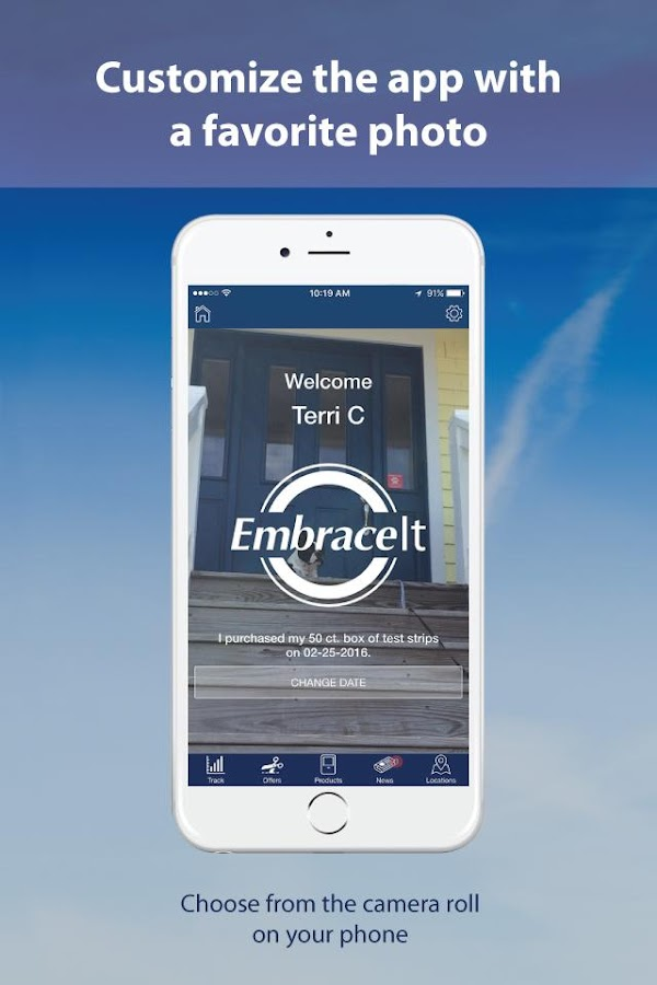 EmbraceIt- screenshot