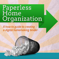 Paperless Home Management Binder