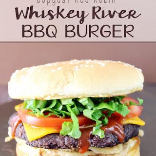 Copycat Red Robin Whiskey River BBQ Burger.
