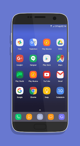 UX Experience S8 - Icon Pack Applications pour Android screenshot