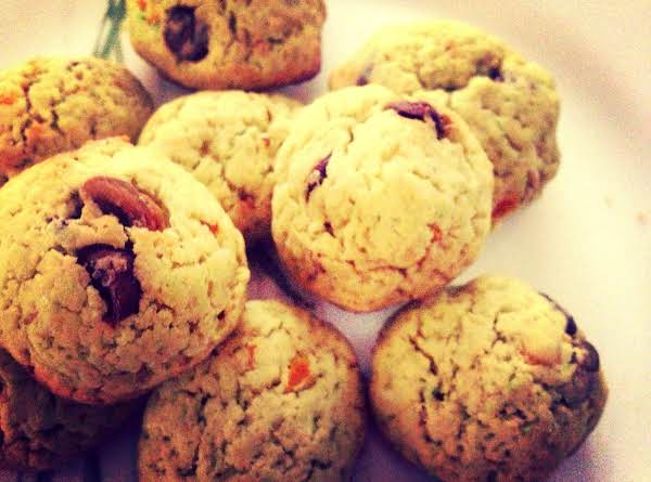 Pistachio Orange Chocolate Chip Cookies Recipe