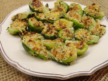 Baked Stuffed Brussels Sprouts W/bacon & Cheeses Recipe
