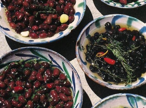 Marinated Olives And Variation Recipe