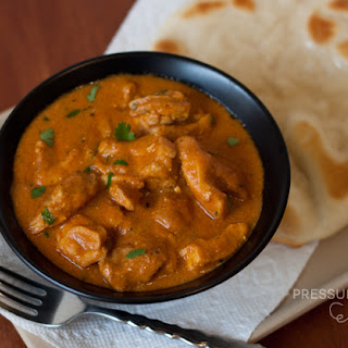 Pressure Cooker Indian Butter Chicken.