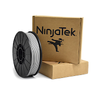 NinjaTek Cheetah Steel Gray TPU Filament - 1.75mm (0.5kg)