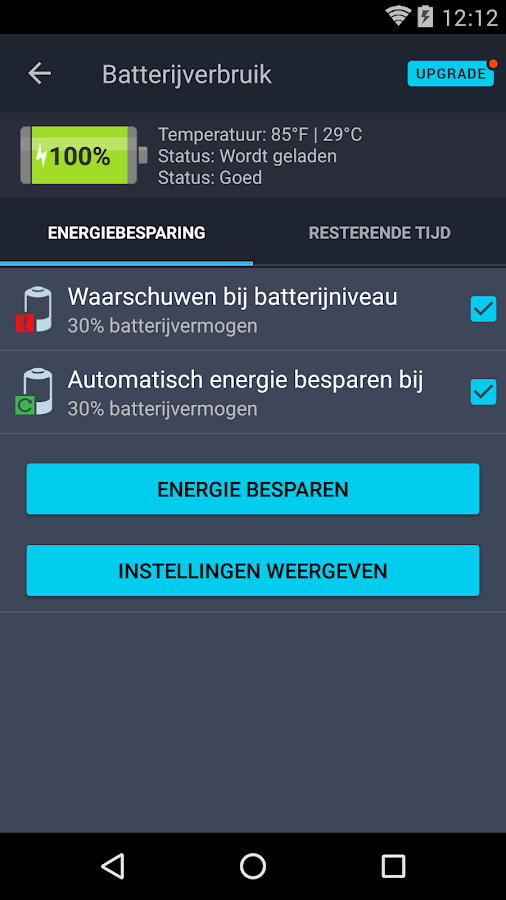 Antivirus Gratis voor Android: screenshot