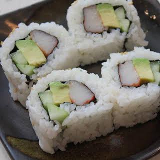 California Sushi Rolls.