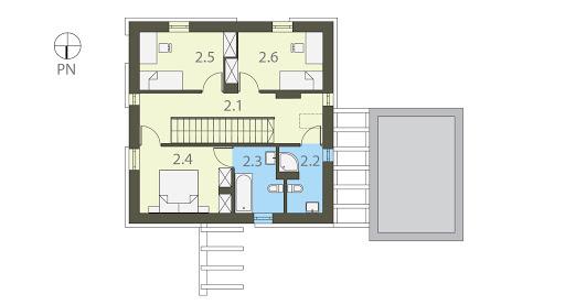 Kwadrat - Rzut piętra