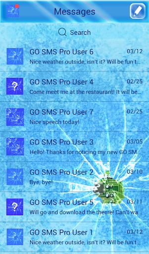 GO SMS Proの冷凍