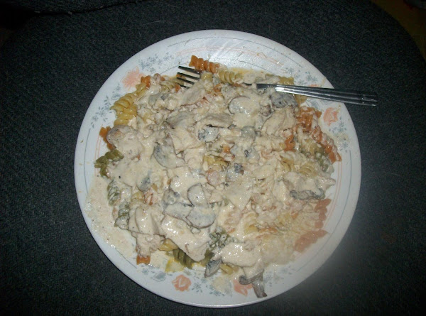 Chicken And Mushroom Alfredo Sauce Recipe