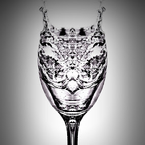 Formation in A Cup of Water by Rony Nofrianto - Artistic Objects Cups, Plates & Utensils ( water, cup, glass, waterdrops, water splash, formation )