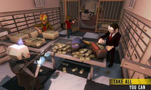 Bank Robbery Gangster Squad: City Battle Royale for PC