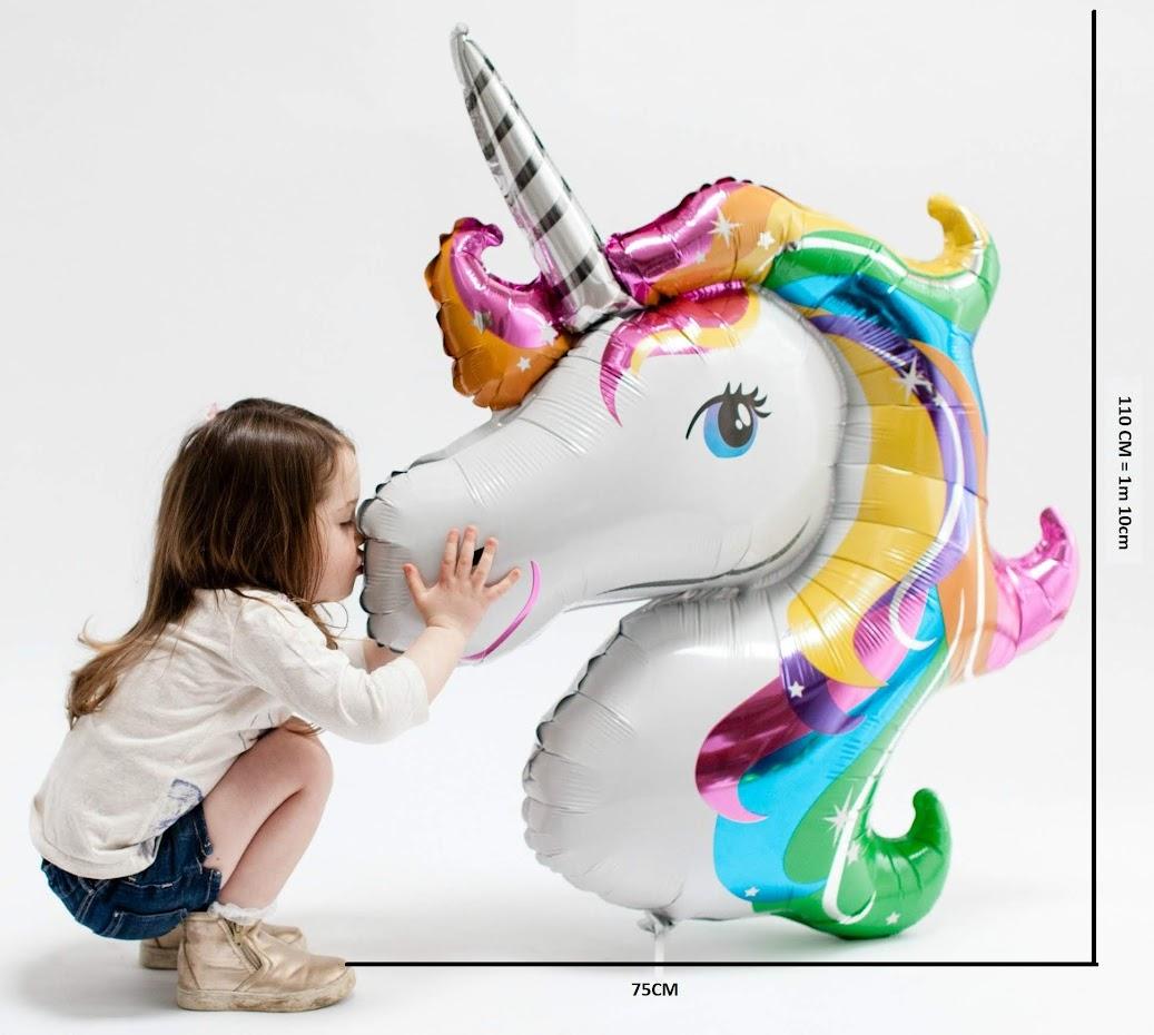 GIANT 1-M Foil Unicorn Balloon Large Kids Birthday Party Helium Decoration UK