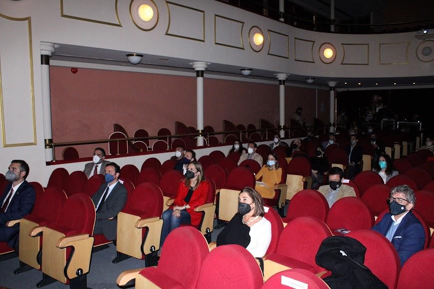 Asistentes al acto organizado por el Club de Marketing.