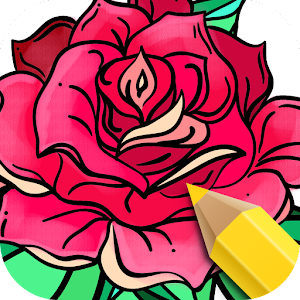 flowers coloring books - Flower Coloring Books