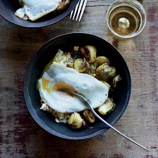 Roasted Brussels Sprouts with Peanuts and Fish Sauce.