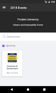 Flinders Career Events 2018 - náhled