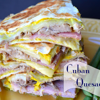 Cuban Quesadilla