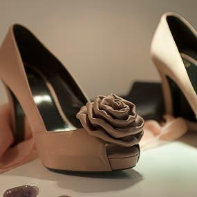 wedding shoe by Cristobal Garciaferro Rubio - Wedding Details ( wedding shoe, weddin, bride, shoe )