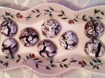 Italian Anise Chocolate Walnut Cookies Recipe