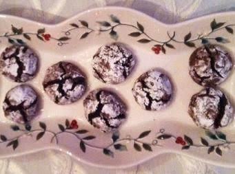 Sambuca Choclate Cookies