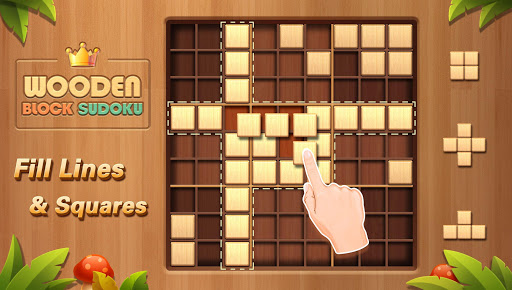 Wooden Block Sudoku 1.2 screenshots 1