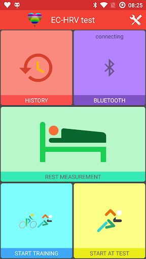 EC-HRV test