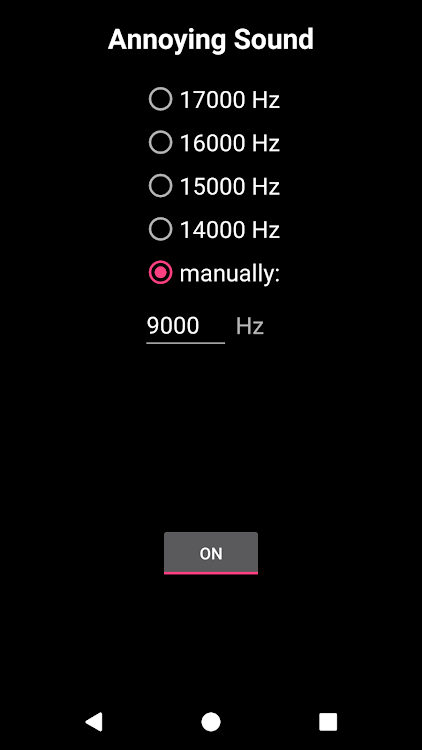 Annoying Sound (Frequency Generator) – (Android Apps) — AppAgg