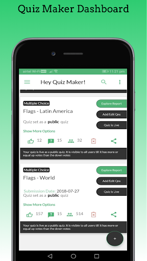 Quizmo: Free app to Create, Attempt, Share Quizzes apktram screenshots 3
